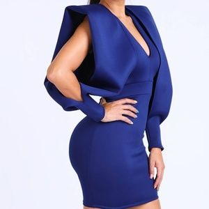 Dresses - Super Shoulder Super Techno Dress